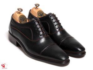 کفش مردانه مدل اسپانیایی بنددار