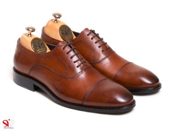 عکس مدل کفش مردانه چرمی مدل فرود بورنیش