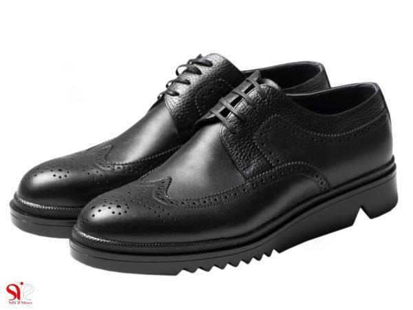 کدل کفش طبی پرسنلی مردانه نیومن رنگ مشکی