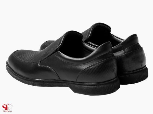 کفش طبی با کف لاتکس و پد خارپاشنه مدل نروژی