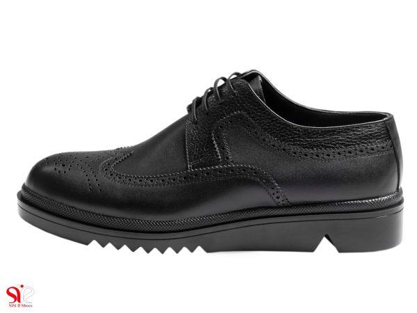 کفش مردانه مدل نیومن رنگ مشکی