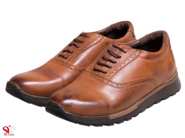 کفش اسپرت مردانه مدل فوستر رنگ عسلی