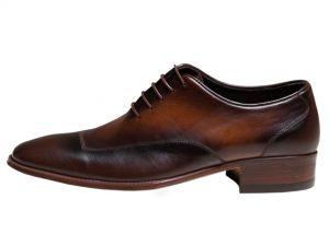 کفش مردانه مدل لوکا با چرم دو رنگ