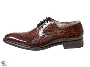 کفش مردانه مدل هیلدا رنگ قهوه ای