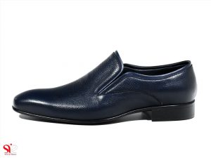 کفش مردانه مدل رزتی رنگ سرمه ای