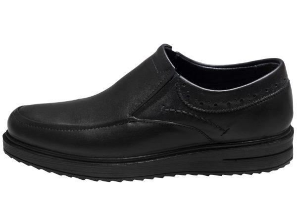 کفش مردانه مدل هوگو رنگ مشکی سی سی