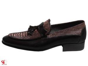کفش مردانه مجلسی خاص سی سی مدل هیرو