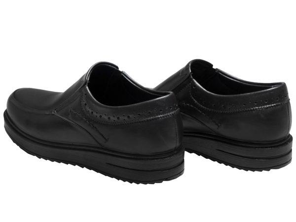 کفش لژ دار پرسنلی اداری مردانه سی سی مدل هوگو