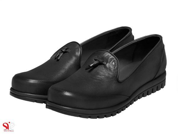 عکس مدل کفش راحت زنانه مدل سلنا رنگ مشکی سی سی