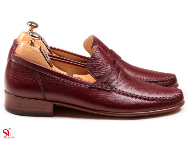 کفش کالج سبک و راحت ماکاسین رنگ عسلی
