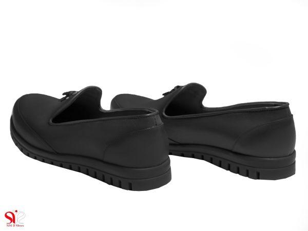 پاشنه تخت 2 سانتی متری کفش زنانه سی سی مدل سلنا رنگ مشکی