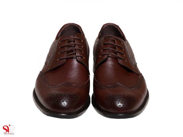 کفش دوینا هشت ترگ سی سی مدل ادوارد رنگ قهوه ای