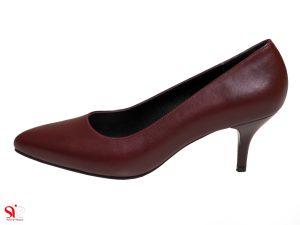 کفش زنانه مدل سوفیا رنگ زرشکی