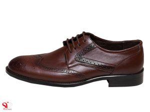 کفش مردانه مدل ادوارد رنگ قهوه ای سی سی