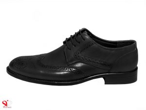 کفش مردانه مدل ادوارد رنگ مشکی سی سی