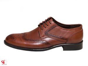کفش مردانه مدل دوارد سی سی رنگ عسلی