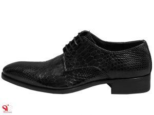 کفش مردانه مدل راجو رنگ مشکی