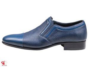 کفش مردانه مدل رویال رنگ سرمه ای آبی