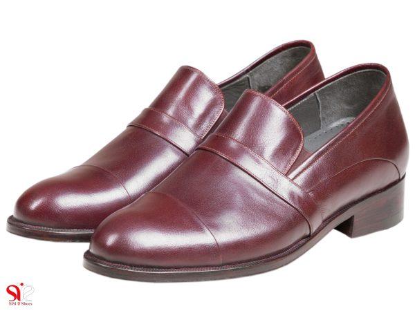 مدل کفش مجلسی مردانه پاشنه مخفی کفش افزایش قد فابیو