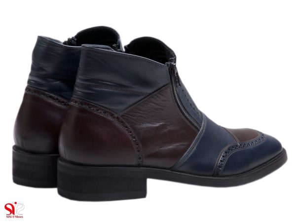 نیم بوت مردانه با زیره و کفش ضد لغزش روی یخ مدل سهند سی سی