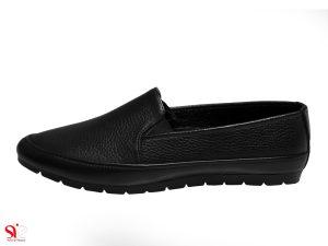 کفش تخت زنانه مدل یاس رنگ مشکی