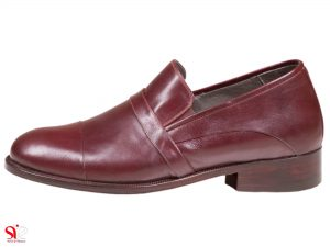 کفش مردانه مجلسی پاشنه مخفی برای افزایش قد مدل فابیو