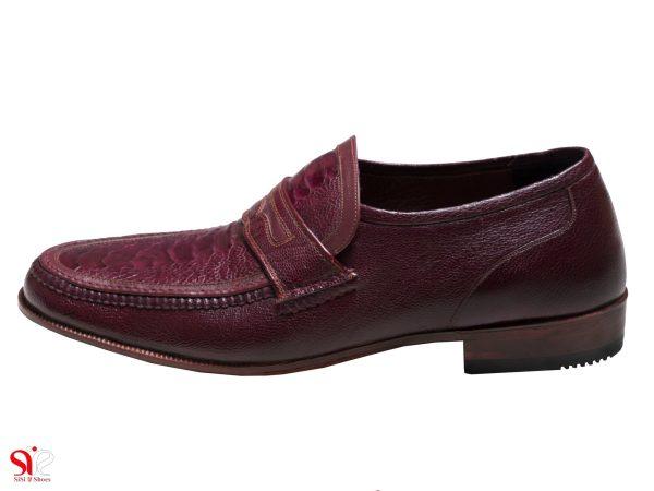 کفش مردانه مدل فانتوفی رنگ زرشکی