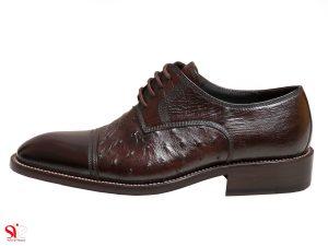 کفش مردانه مدل ماتیا رنگ قهوه ای