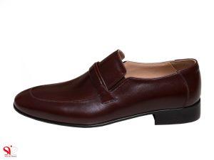 کفش مردانه مدل مالنا رنگ قهوه ای