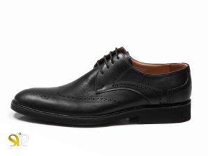 کفش مردانه مدل بتا مشکی - کفش تبریز