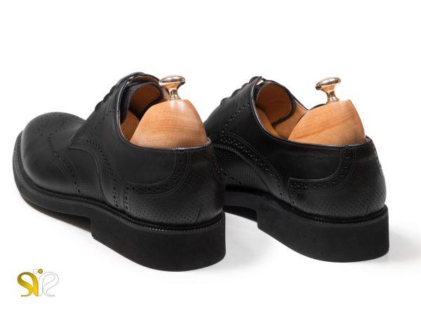 کفش پاشنه تخت مردانه مدل بتا سبک - کفش اداری