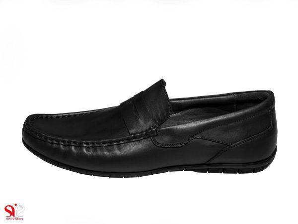 کفش کالج مردانه مدل شانلی رنگ مشکی