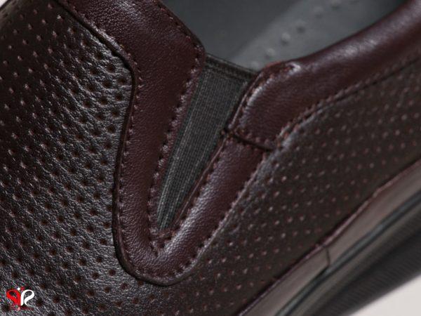 رویه نرم کفش زنانه طبی سی سی مدل چینار رنگ قهوه ای