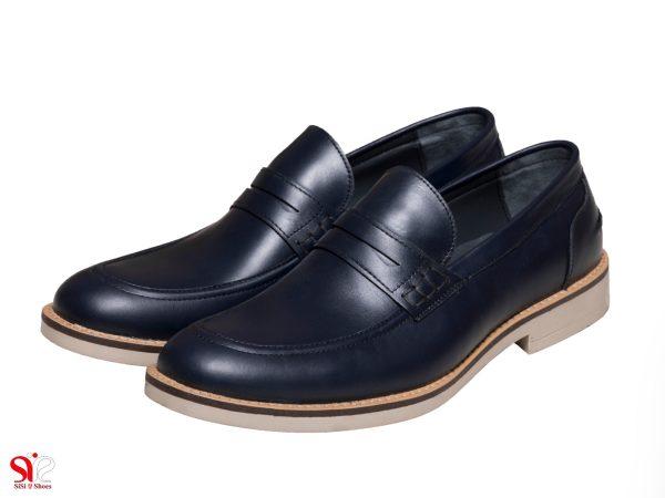 مدل کفش مردانه رسمی رنگ سرمه ای دیاکو سی سی تبریز