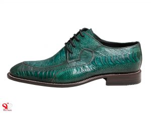 کفش مردانه سی سی مدل ویتو رنگ یشمی