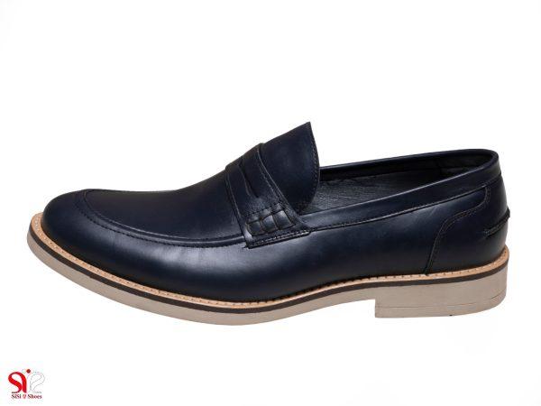 کفش مردانه مدل دیاکو رنگ سرمه ای