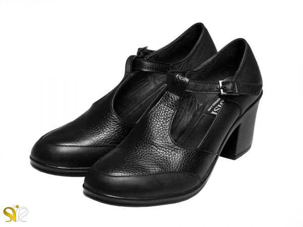 مدل کفش اداری زنانه شروین با پاشنه ۵ سانتی متری