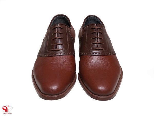 کفش تبریز مدل ارجمند رنگ عسلی