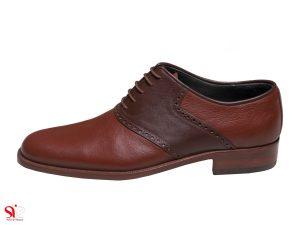 کفش مردانه مدل ارجمند رنگ عسلی سی سی
