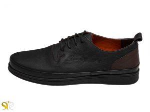 عکس مدل کفش اسپورت پسرانه پادوس رنگ مشکی - کفش تبریز