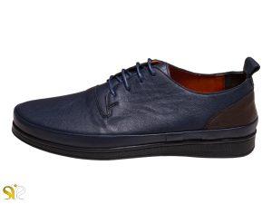عکس مدل کفش مردانه کالج پادوس رنگ سرمه ای - کفش کالج