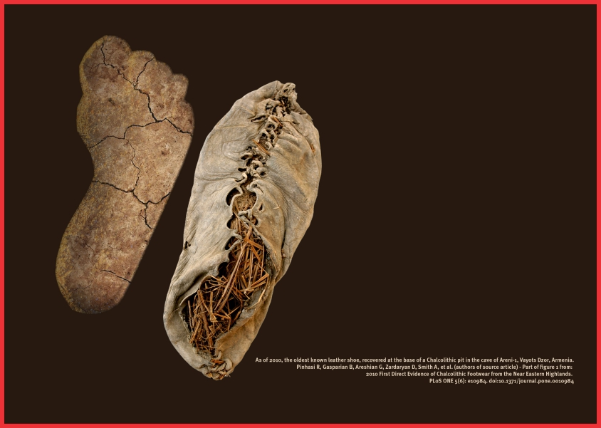 کفش آرنی - ۱ یکی از قدیمیترین کفش های کشف شده