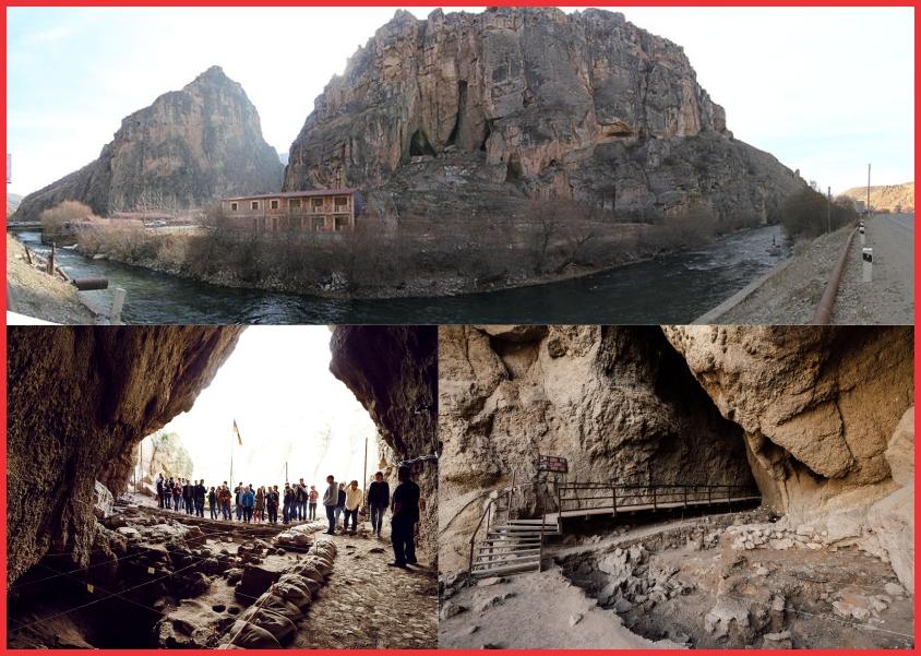 غار آرنی-۱ در ارمنستان که یکی از قدیمیترین کفش های بستانی جهاد در آن یفت شده است