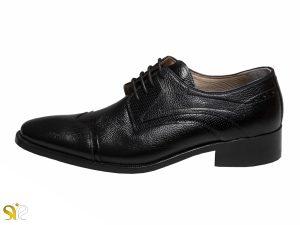 مدل کفش کلاسیک مردانه استیون رنگ مشکی - کفش - کفش مردانه