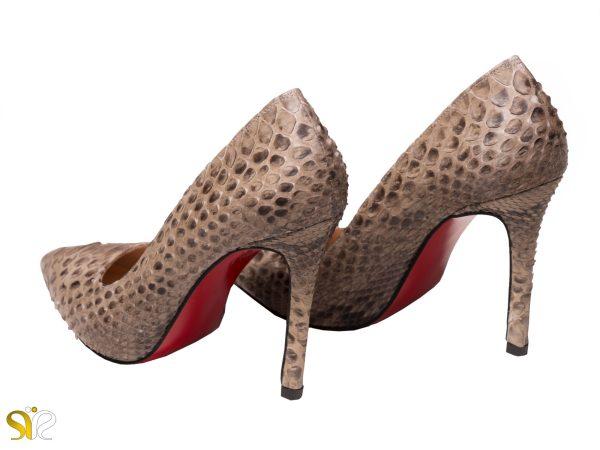 پاشنه 10 سانتی متری بلند کفش مجلسی زنانه مدل جاستینی
