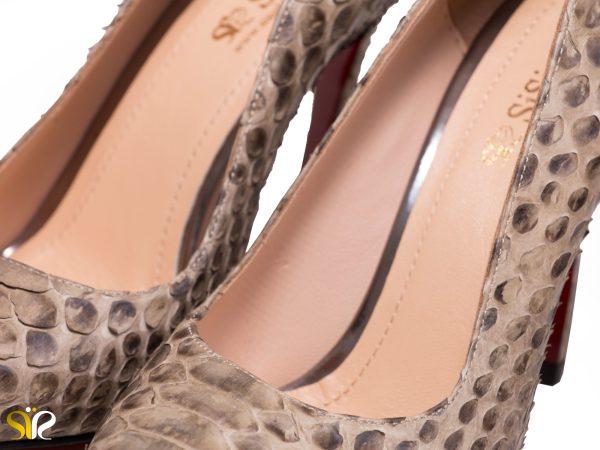 پوست ماری کفش زنانه مجلسی مدل جاستینی سی سی