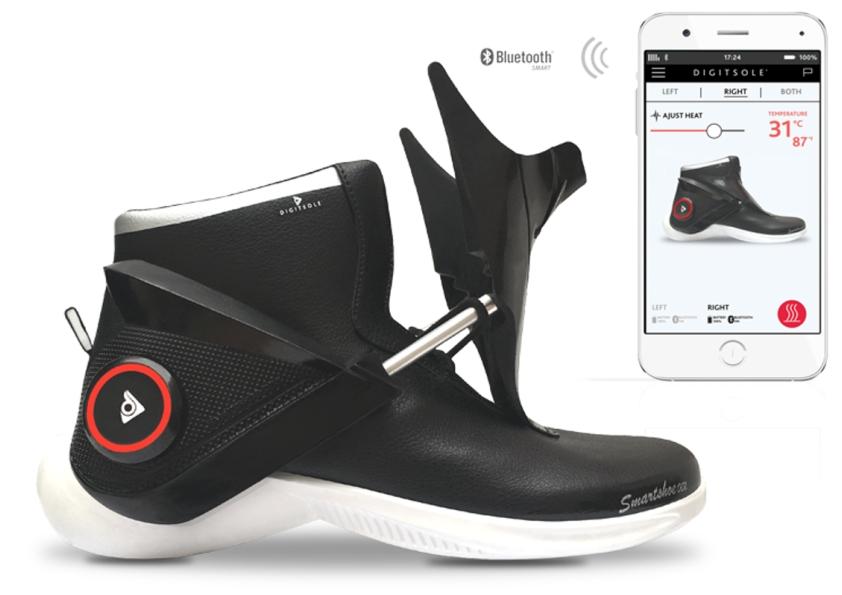 کفشهای هوشمند Digitsole