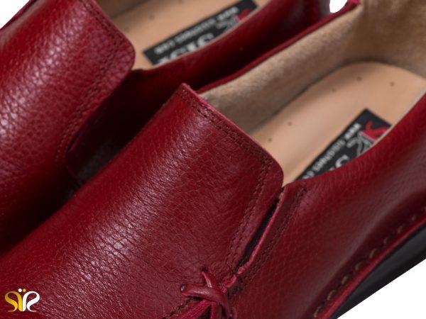 کفش طبی زنانه مدل مرسده رنگ قرمز
