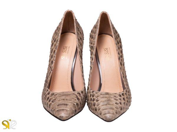 کفش لوکس زنانه مجلسی مدل جاستینی پوست ماری