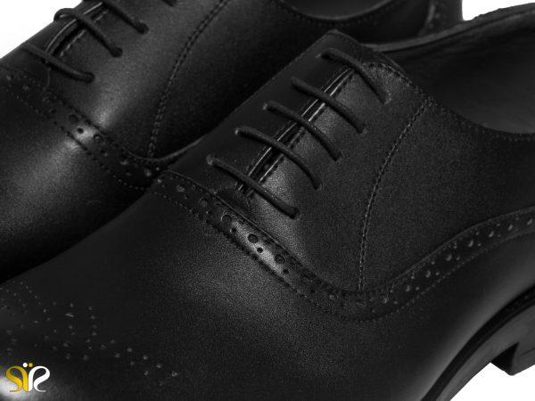 کفش مردانه با چرم طبیعی گاوی مدل گالوس - کفش تبریز